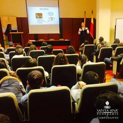 Charlas y conferencias Universidad del Azuay