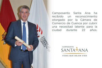 Reconocimiento a Camposanto Santa Ana